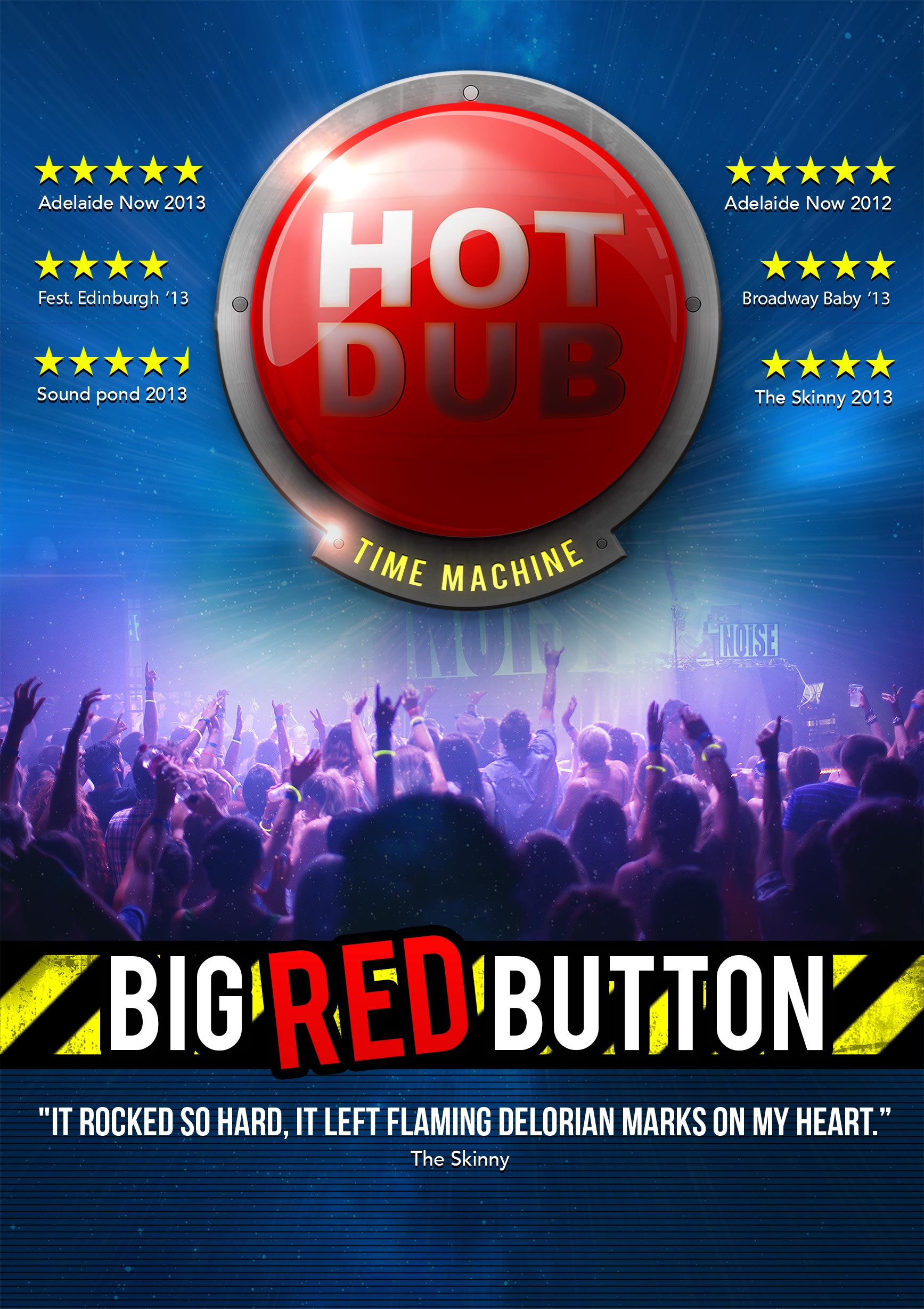 HOT DUB TIME MACHINE - Big Red Button