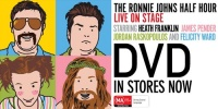 RONNIE JOHNS HALF HOUR LIVE DVD