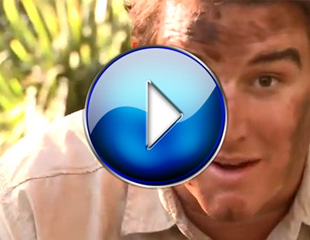 Heath Franklin hilarious pisstake of Bear Grylls from Man vs Wild